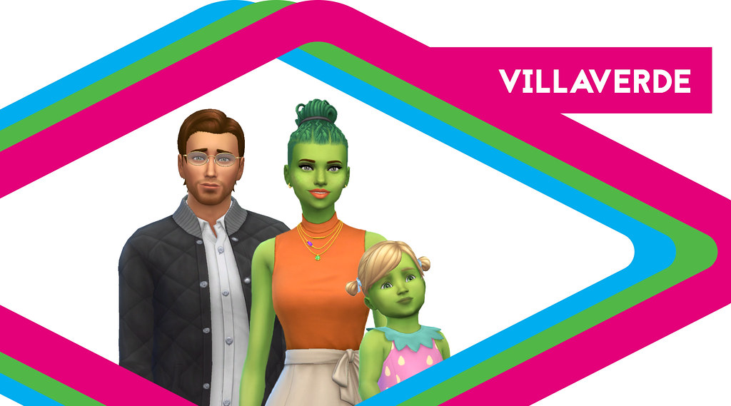 Sims de Antaño: Los Villaverde