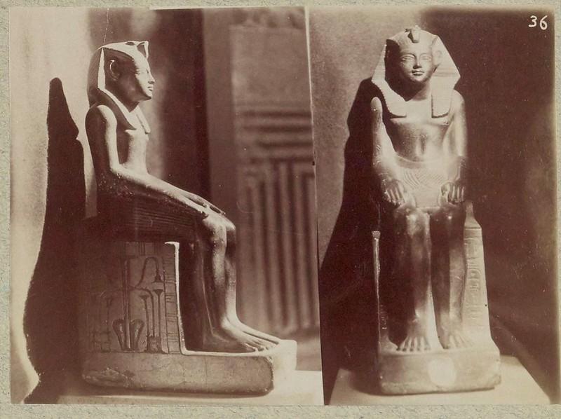 Древности Египта. Часть 78. 1900-е. Египетские древности из музеев