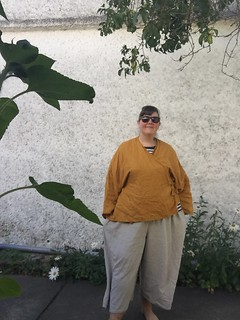Papercut Patterns Kochi Kimono Plus Size Review in Linen