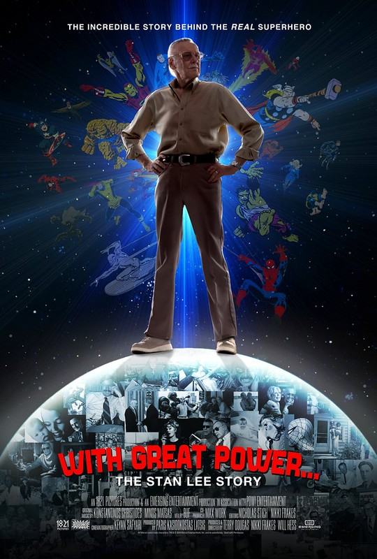 With Great Power - The Stan Lee Story - Poster 2