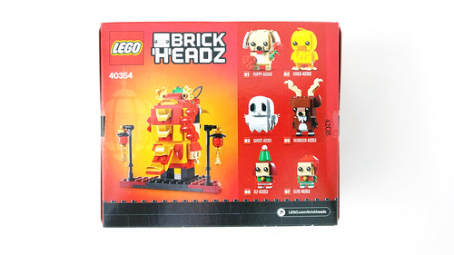 LEGO Seasonal BrickHeadz Dragon Dance Guy (40354)