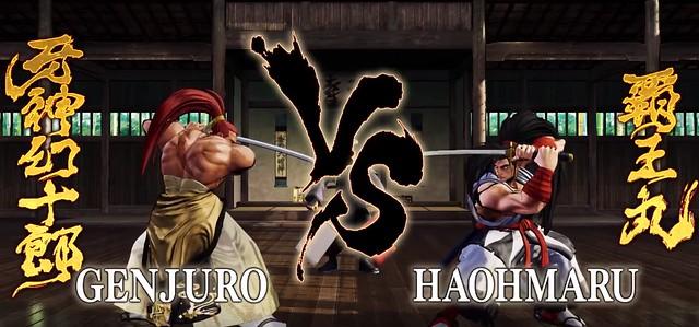사무라이 쇼 다운 - Genjuro vs Haohmaru
