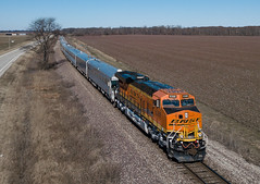 BNSF 8388 (ES44C4) Super Bowl OCS Clarkedale, Arkansas