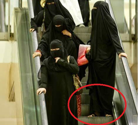 612 Beware of Escalators and Trailing Abayas in KSA