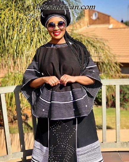 Modern Xhosa traditional attire for wedding designs , Latest