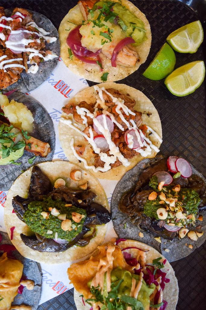 Tacos at Taco Bill Pop Up at Alberrys, Canterbury