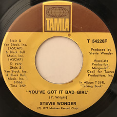STEVIE WONDER:SUPERSTITION(LABEL SIDE-B)