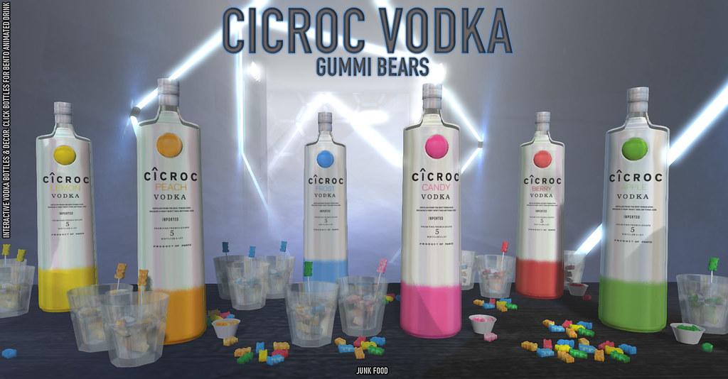 Junk Food – Cicroc Vodka Gummi Bears