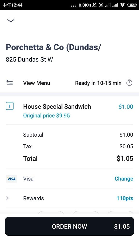 Porchetta & Co. House Special Sandwich