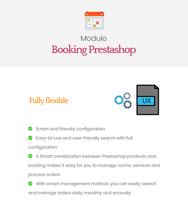 Ap Booking PrestaShop Module - Fully Flexible