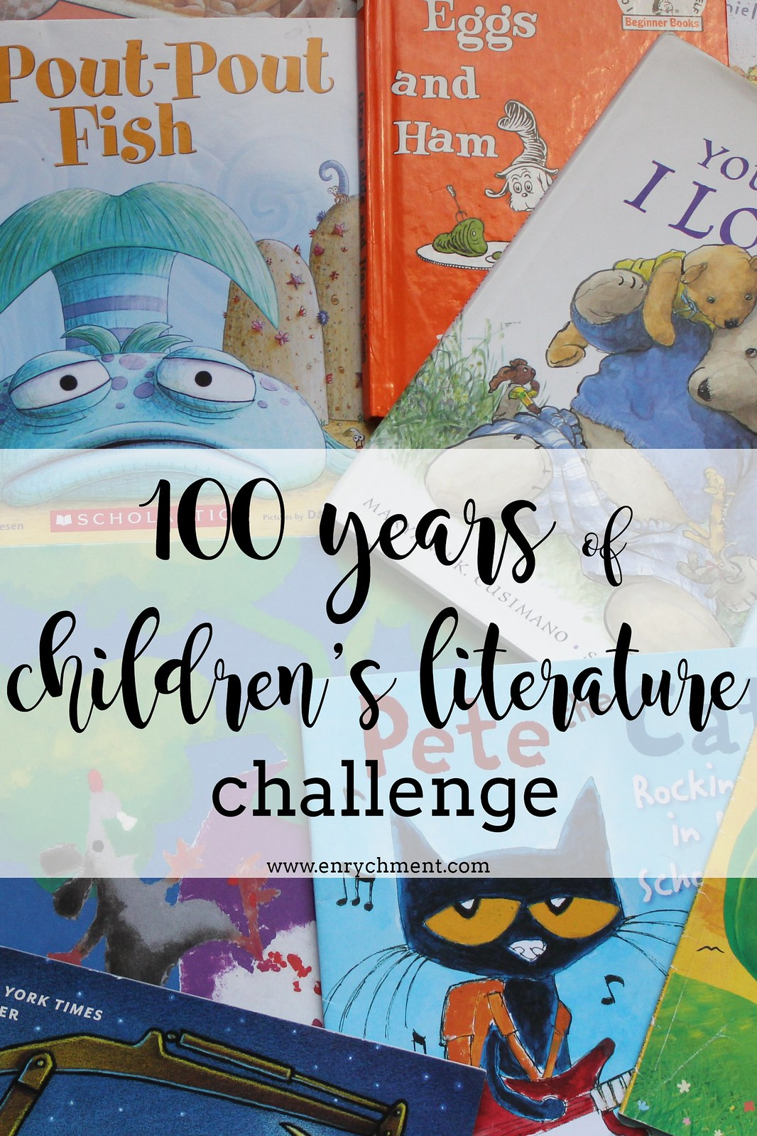 100 of Childrens Literature Challenge! Read one book from each year of publication starting with 1919 | www.enrychment.com #100YearsofChildrensLit