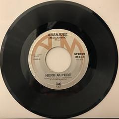 HERB ALPERT:RISE(RECORD SIDE-B)
