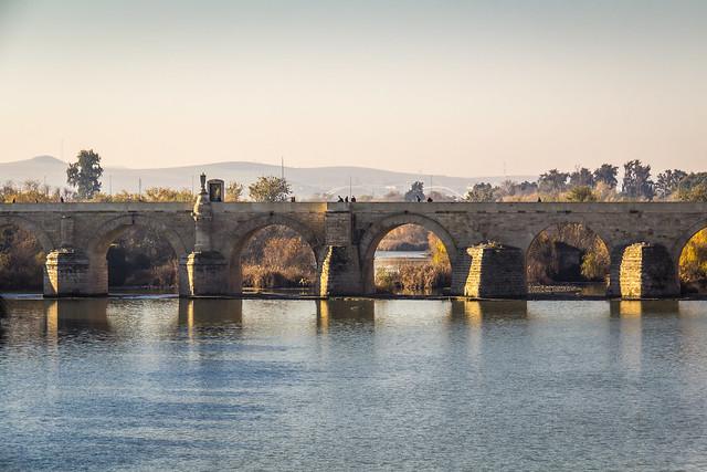 Spain - Cordoba - Roman bridge over Guadalquivir river