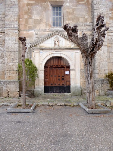 Belbimbre (Burgos-España). Iglesia. Portada