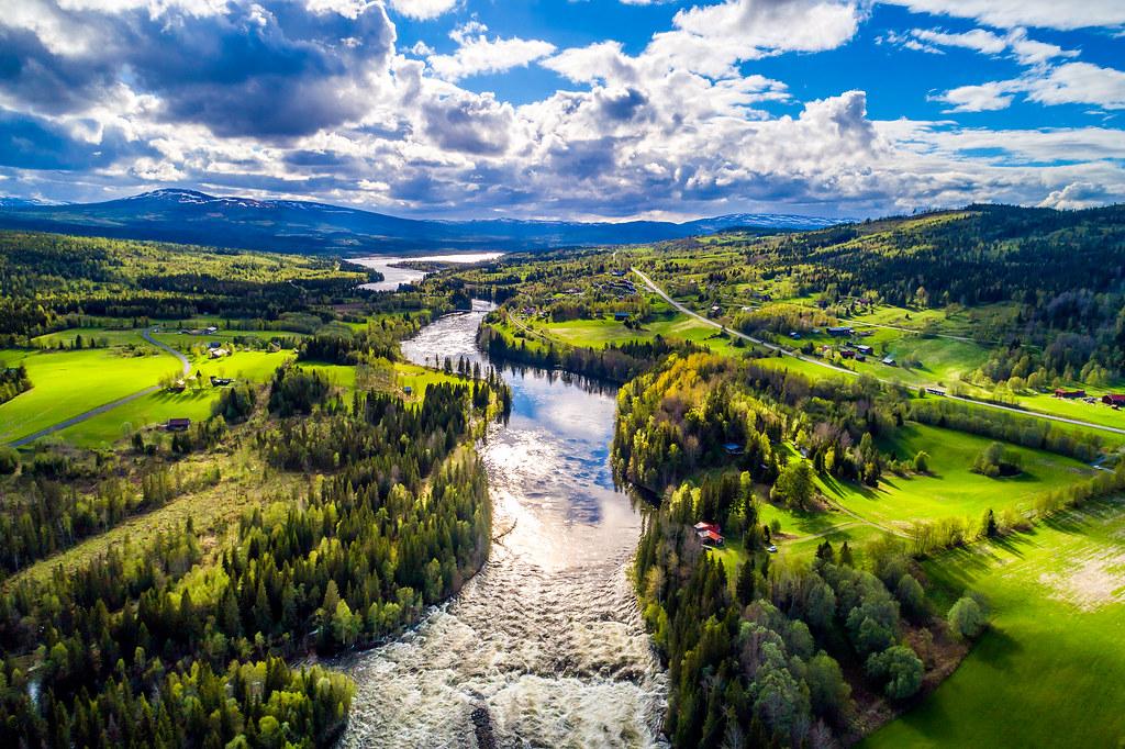 瑞典耶姆特蘭省一景。圖片來源:cookelma / envato