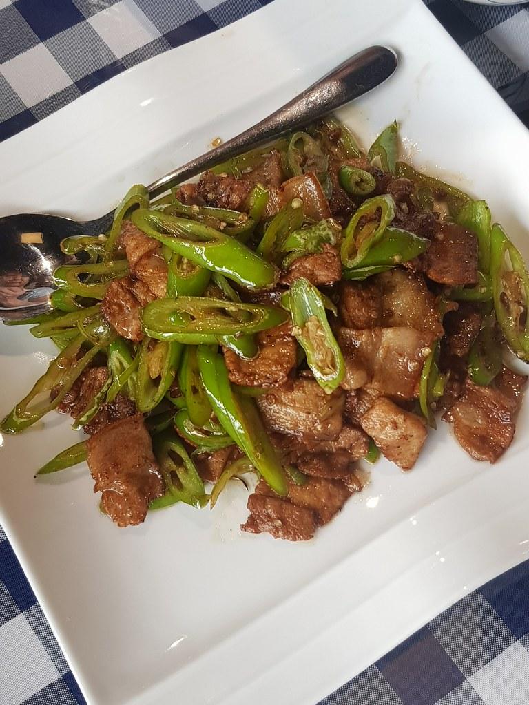 农家小炒肉 Farmhouse fried meat rm$28 @ 天逸轩餐厅 Restoran Tian Yee at Oasis Square, PJ Ara Damansara