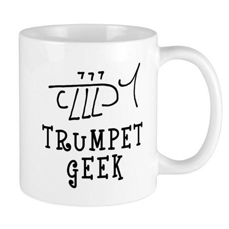 Trumpet Geek Hand Drawn Trumpet