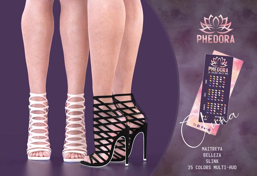 "Phedora for Level Event ~ ""Cluna"" heels <3"