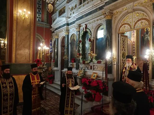 Η υποδοχή του νέου έτους στην Τρίπολη (photos)