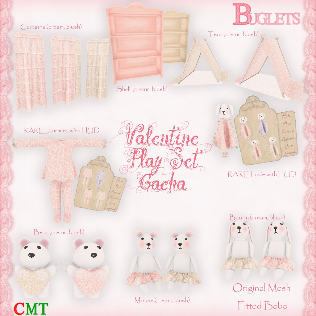 Valentine Play Set Gacha Key