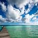 Bacalar lagoon por Mario Graziano