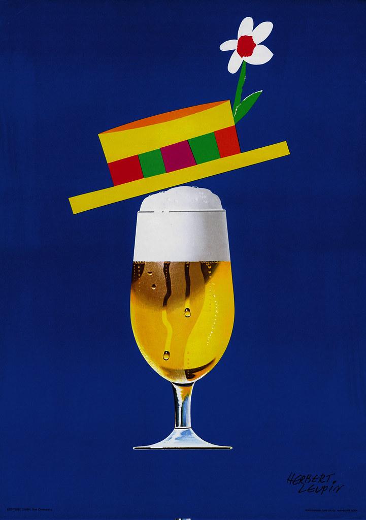 Bier mit Hut