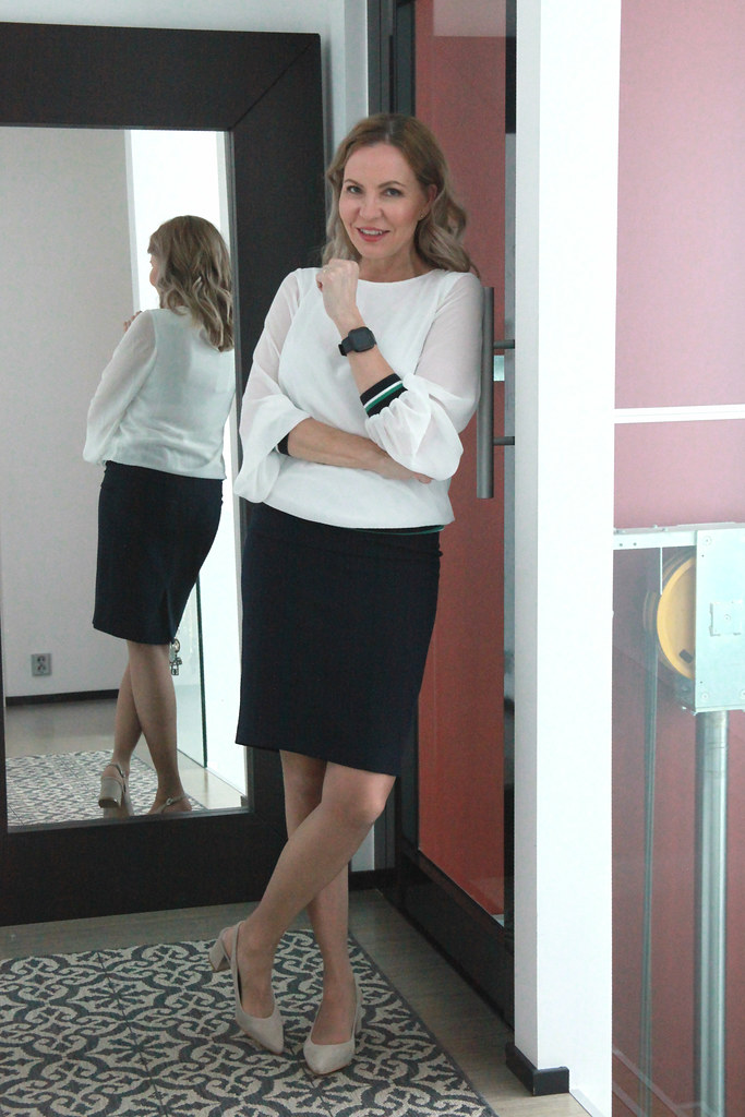 Sokos Tavaratalot: sOliver Shirt, Esprit Skirt by Business Woman