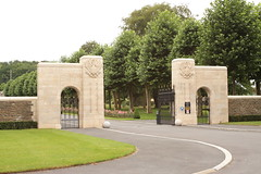 Entrance to the Aisne-Marne American Cemetery Belleau Wood France