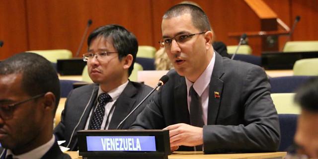 Venezuela solicita al Mnoal defender los Principios de Bandung y de la Carta de la ONU