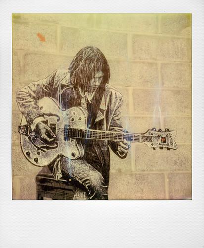 Neil Young by Jef Aerosol (Marquette lez Lille, France)