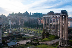 Temple of Saturn & Temple of Vespasian and Titus