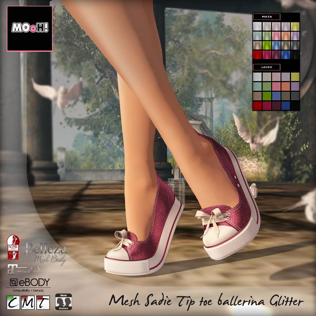 Sadie tip toe ballerina glitter - TeleportHub.com Live!