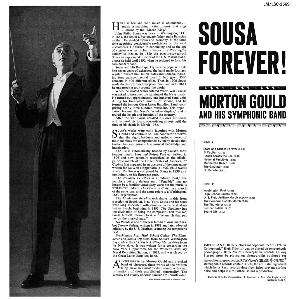 Morton Gould - Sousa Forever