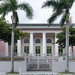 Image of Viejo San Juan near San Juan. oldsanjuan biblioteca x100f building edificio sanjuan viejosanjuan puertorico carnegielibrary osj pr palmtrees fujifilm fuji