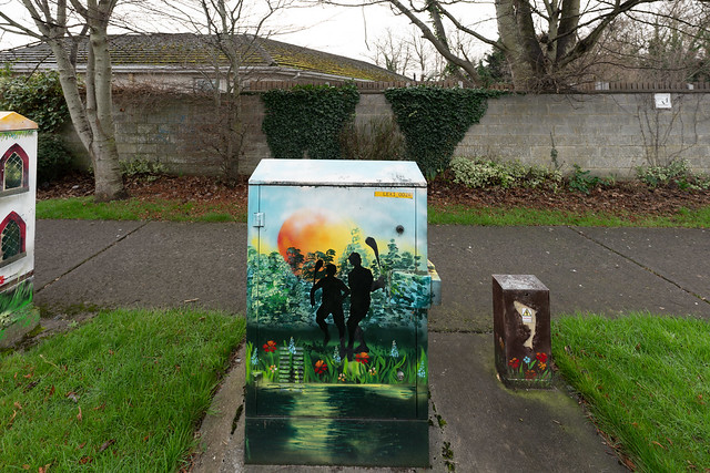 EXAMPLES OF PAINT-A-BOX STREET ART IN LEIXLIP [PAINTED UTILITY CABINETS]-148216