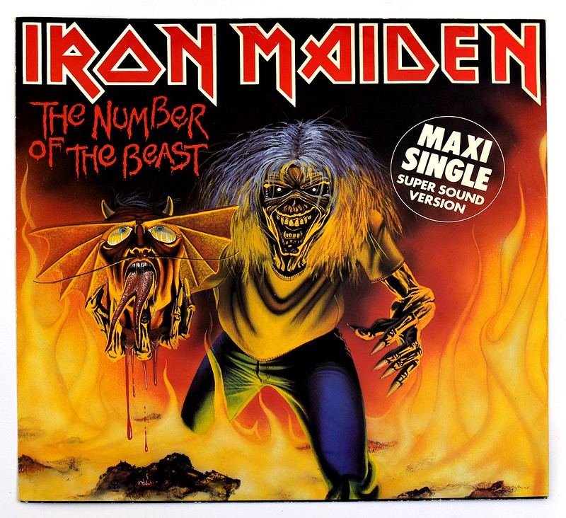 A0369 Iron Maiden The Number of the Beast (Maxi)