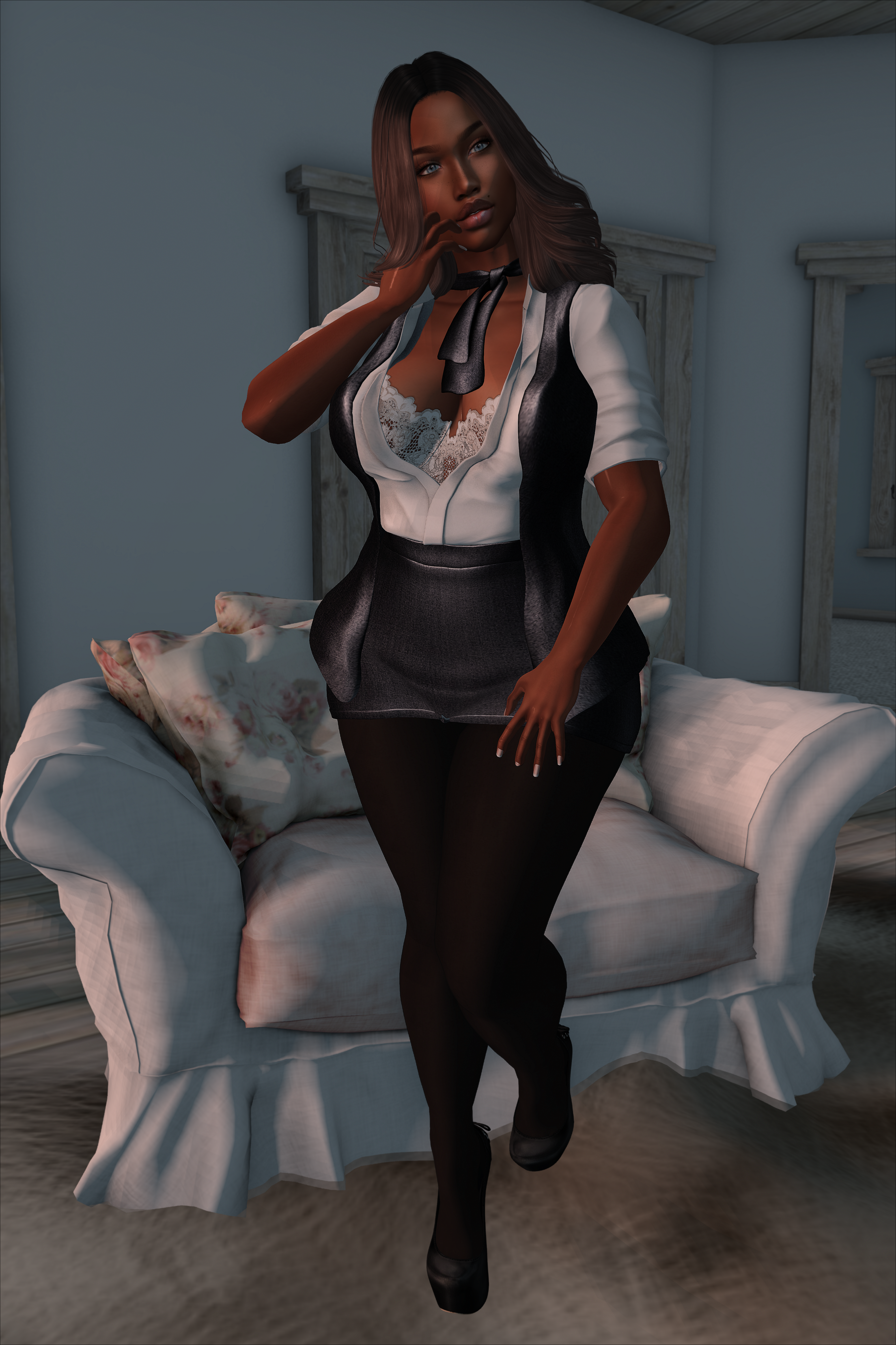 LOTD #11 // Baiastice Taylor Suit  #Fameshed February Round