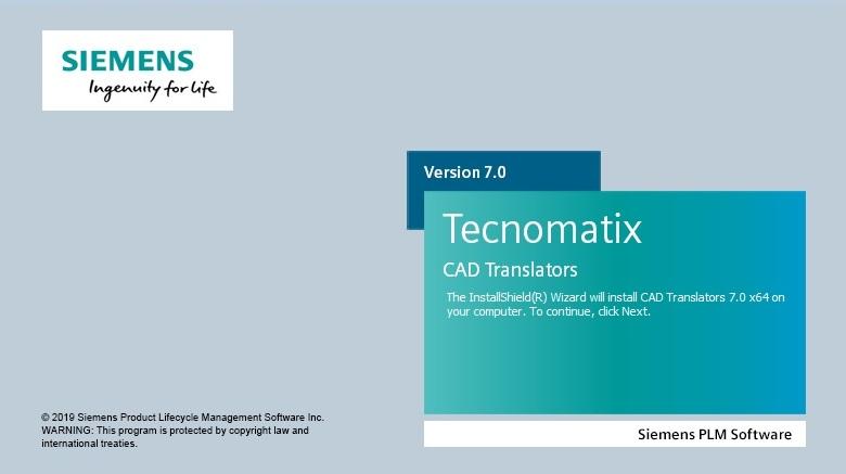 Siemens Tecnomatix CAD Translators 7.0 x64 full license