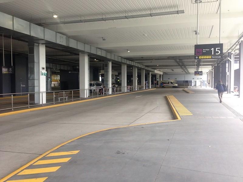 Melbourne Airport bus interchange