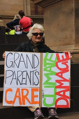 Grandparents care about climate damage - Melbourne climate strike - IMG_4011