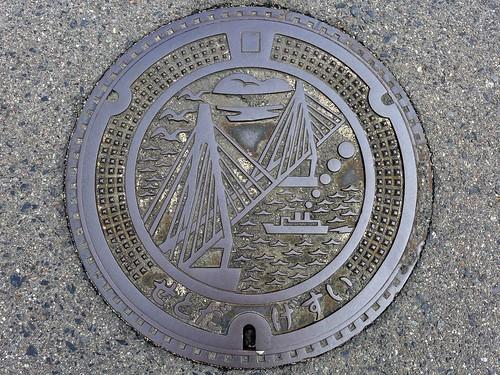 Setoda Hiroshima, manhole cover(広島県瀬戸田町のマンホール)