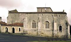 Church at Thiré in the Vendée France