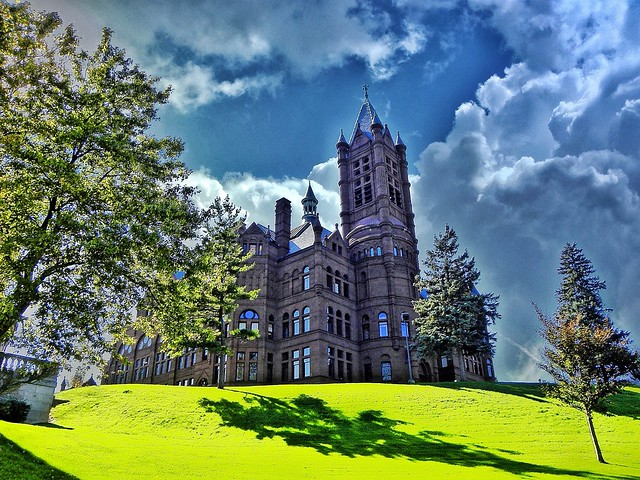 Crouse College ~ Syracuse University ~ Syracuse NY
