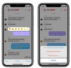 Cách thu hồi tin nhắn đã gửi trong Facebook Messenger
