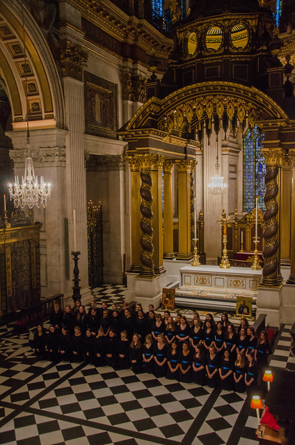 Evensong at St Paul's Cathedral