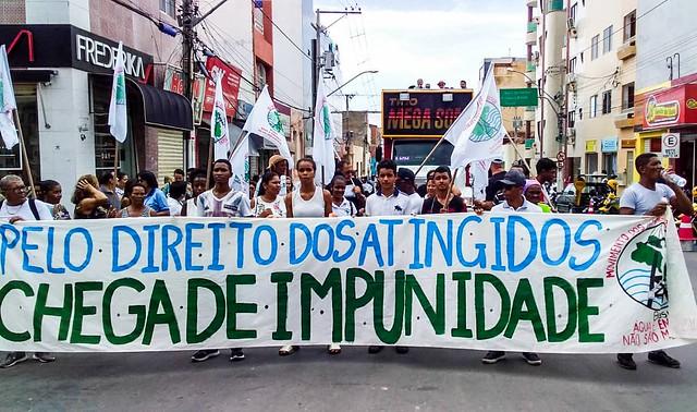 Milhares de pessoas se solidarizam com as vítimas de Brumadinho e denunciam o risco de contaminação do rio São Francisco - Créditos: Fotos: Brigada Popular em defesa do São Francisco