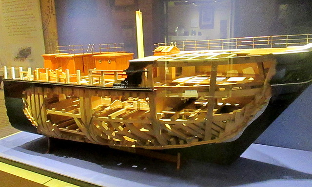 Cut Away Model of RRS Discovery, Dundee
