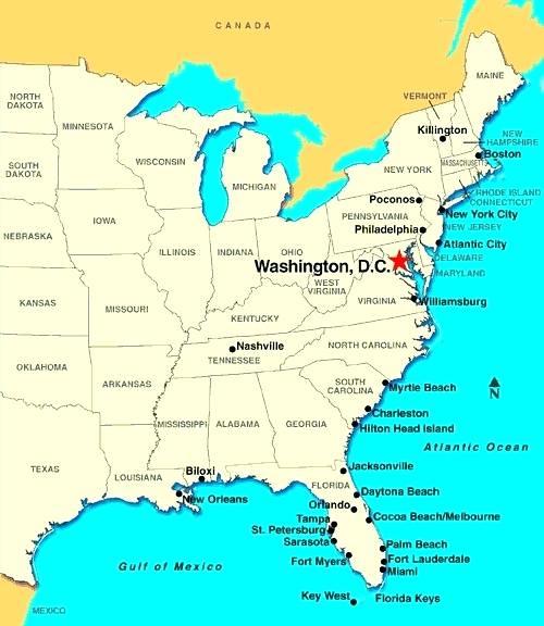 us-map-dc-located-state-information-usa-washington ...