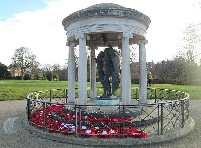 Shropshire War Memorial, Shrewsbury 2