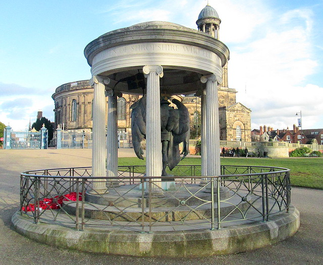 Shropshire War Memorial, Shrewsbury  3